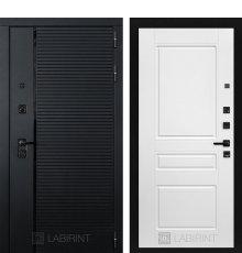Дверь Лабиринт PIANO 03 — Белый софт