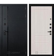 Дверь Лабиринт PIANO 03 — Сандал белый