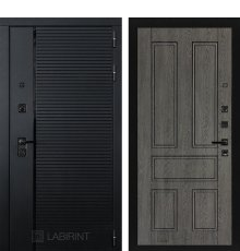 Дверь Лабиринт PIANO 10 — Дуб филадельфия графит