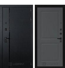 Дверь Лабиринт PIANO 11 — Графит софт
