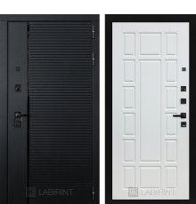Дверь Лабиринт PIANO 12 — Белое дерево