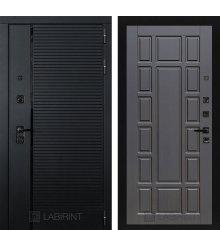Дверь Лабиринт PIANO 12 — Венге