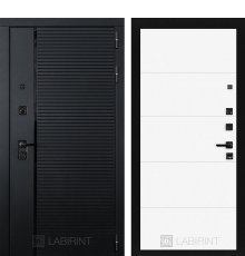 Дверь Лабиринт PIANO 13 — Белый софт