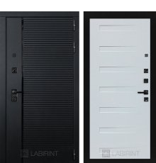 Дверь Лабиринт PIANO 14 — Дуб кантри белый горизонт