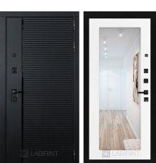 Дверь Лабиринт PIANO 18 — Белое дерево