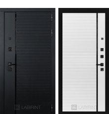 Дверь Лабиринт PIANO 22 — Белый софт