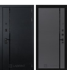 Дверь Лабиринт PIANO 22 — Графит софт