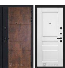 Дверь Лабиринт ТЕХНО 03 — Белый софт