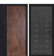 Дверь Лабиринт ТЕХНО 04 — Венге