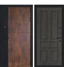 Дверь Лабиринт ТЕХНО 10 — Дуб филадельфия графит
