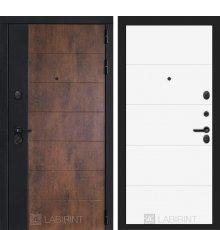 Дверь Лабиринт ТЕХНО 13 — Белый софт