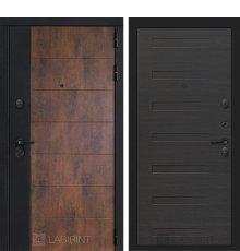 Дверь Лабиринт ТЕХНО 14 — Эковенге поперечный