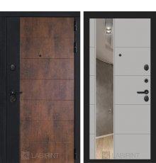 Дверь Лабиринт ТЕХНО 19 — Грей софт