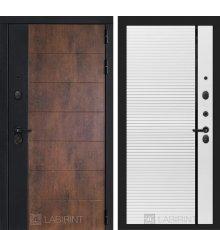 Дверь Лабиринт ТЕХНО 22 — Белый софт