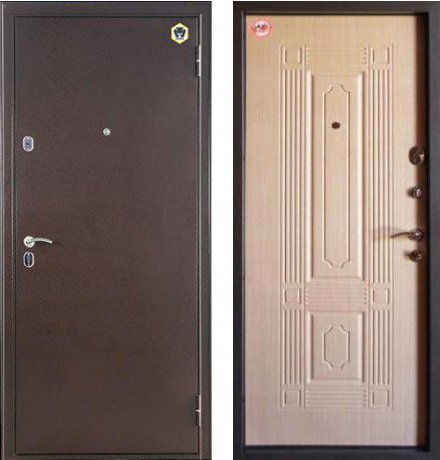 Дверь Бульдорс 14 Шамбори светлый Б-5 фото