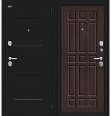 Дверь Браво Мило 104.52  Букле черное/Wenge Veralinga
