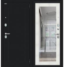 Дверь Браво Флэш Букле черное/Bianco Veralinga