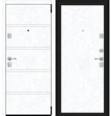 Дверь Браво Porta M 8.П50 Snow Art/Snow Art