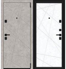 Дверь Браво Porta M 15.15 Grey Art/Snow Art