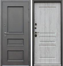 Дверь АСД 3К «Аляска» Сосна белая