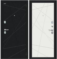Дверь Браво Граффити-5 Букле черное/Slate Art фото