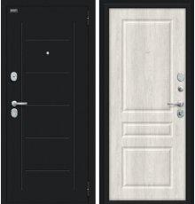 Дверь Браво Пик Букле черное/Casablanca