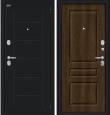 Дверь Браво Пик Букле черное/Dark Barnwood