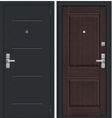 Дверь Нео Муар антрацит/Wenge Veralinga