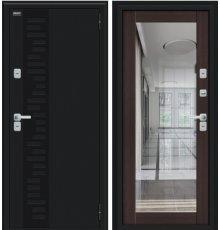 Дверь Браво Thermo Флэш Декор Букле черное/Wenge Veralinga