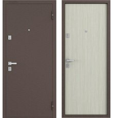 Дверь Бульдорс 12 Дуб беленый гладкая фото