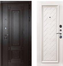 Дверь ЗД Италия венге Упра софт белый