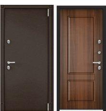 Дверь Torex SNEGIR 55MP ПВХ ЛЕС орех S55-NC-1