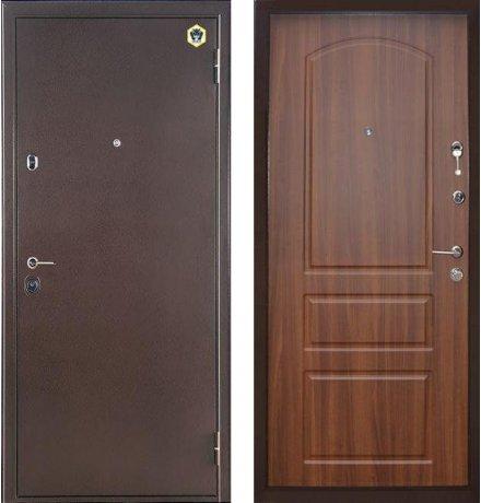 Дверь Бульдорс 14 Лесной орех Б-1 фото