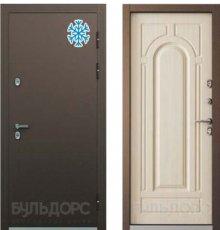 Дверь Бульдорс ТЕРМО-2 Медь / Белый перламутр ТВ-1.2