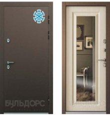 Дверь Бульдорс ТЕРМО-2 Медь / Белый перламутр ТВ-8.2