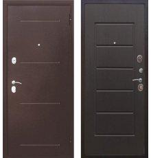 Дверь Цитадель 7,5 см Гарда Медь / Венге