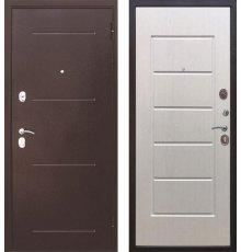 Дверь Цитадель 7,5 см Гарда Медь / Белый ясень
