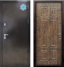 Дверь Снедо Термо-MAXI Тиковое дерево фото