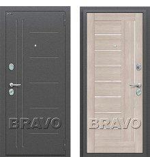 Дверь Bravo Проф Cappuccino Veralinga/White Pearl