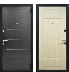 Дверь ZMD Стайл New Венге / Сандал светлый фото