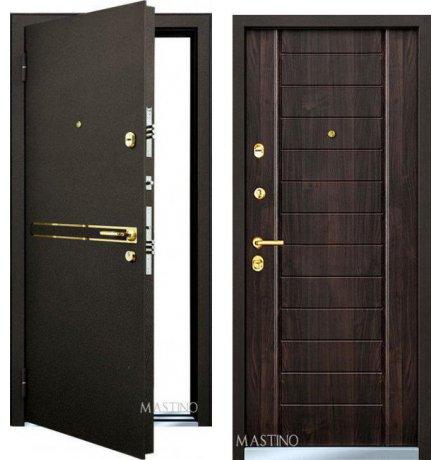Дверь Mastino Strada Дуб Мореный фото