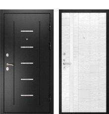 Дверь Luxor-9 Арт-1 Ясень Белая эмаль