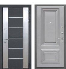 Дверь Интекрон Вельс Сан Ремо 2 RAL 7037