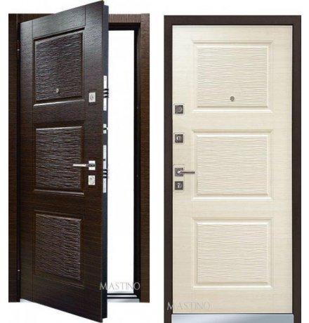 Дверь Mastino Line 3 Венге/Светлый венге фото