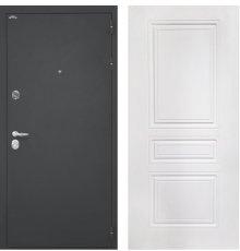 Дверь Интекрон Колизей Белая матовая ФЛ-243-М