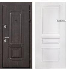 Дверь Интекрон Италия Венге Белая матовая ФЛ-243-М