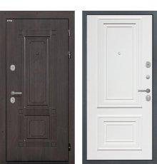 Дверь Интекрон Италия Сан Ремо 1 RAL 9003