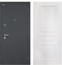 Дверь Интекрон Греция Белый матовый ФЛ-243-М