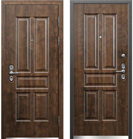 Дверь Профессор 3 02 РР КТ Грецкий орех, правая, 880 мм фото