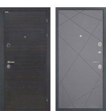 Дверь Интекрон Сицилия Лучи графит
